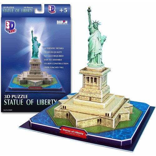 Statue of Liberty 3D Puzzle