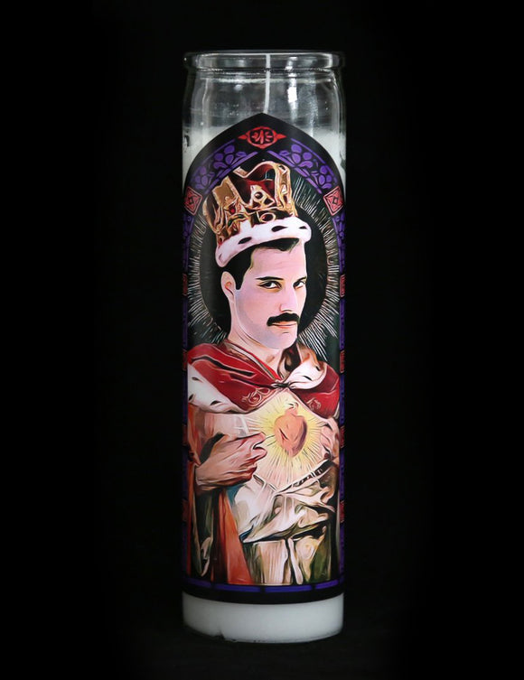 Freddie Mercury Prayer Candle