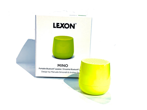 MINO+ 3WATT Bluetooth Speaker: Neon Yellow