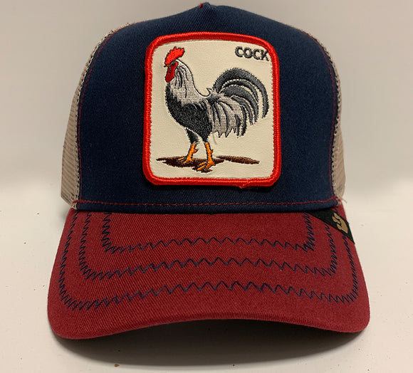 Cock Hat Navy/Red
