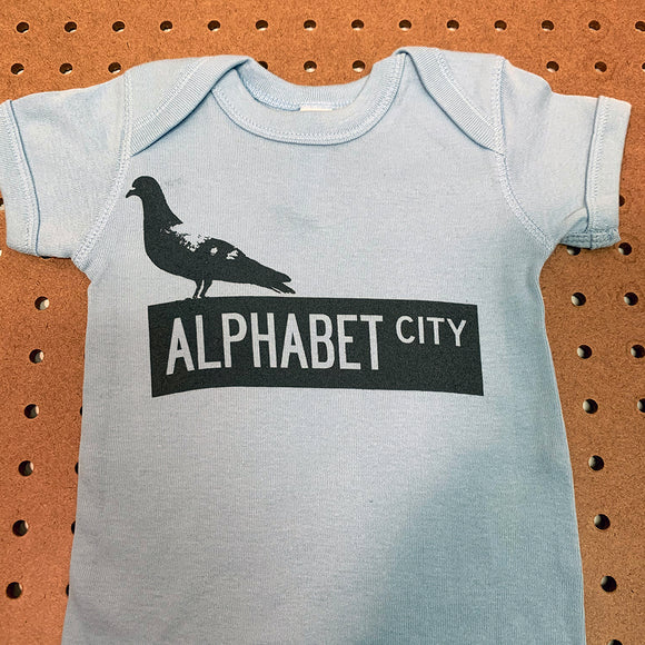 Alphabet City Onesie