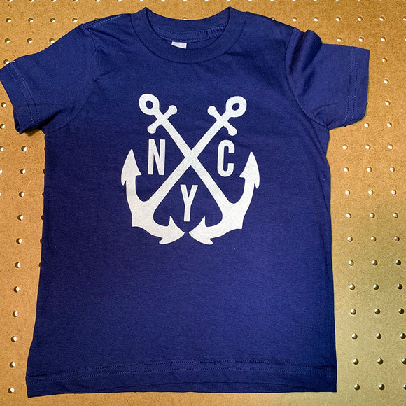 NYC Anchor Kids T-shirt