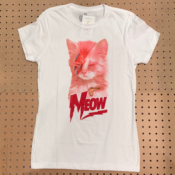 Meow Bowie Shirt