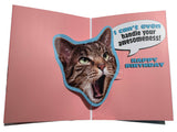 OMG Cat Birthday Card