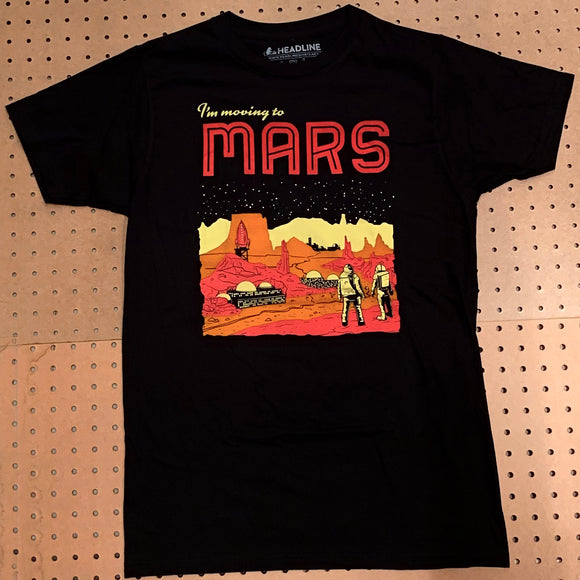 Moving To Mars T-shirt