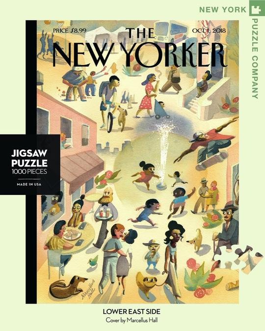 New Yorker 1000pc Puzzle: Lower East Side