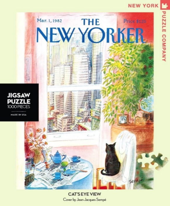New Yorker 1000pc Puzzle: Cats Eye View