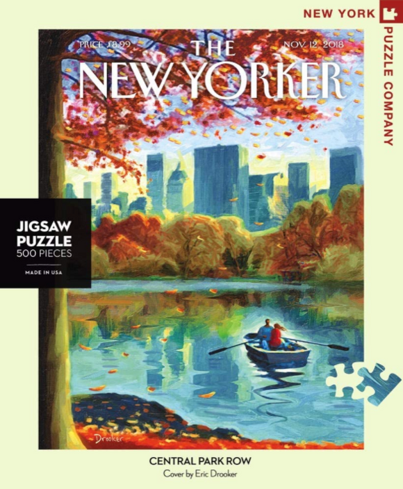 New Yorker 500pc Puzzle: Central Park Row