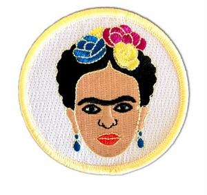 Frida Iron On Patch