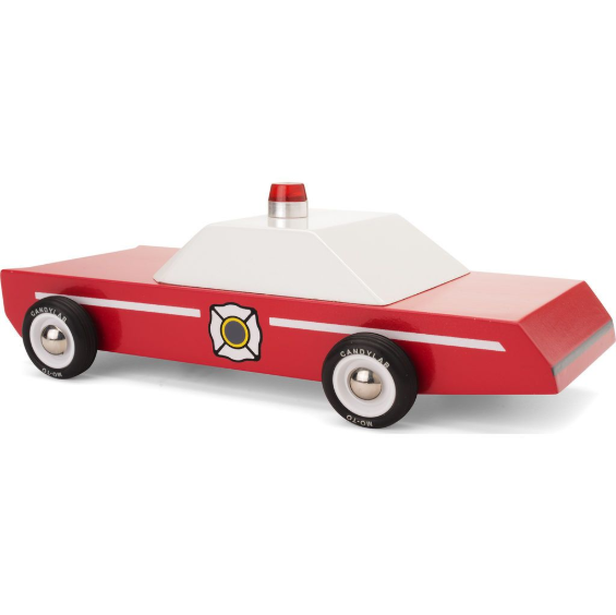 Red Fire Chief Car