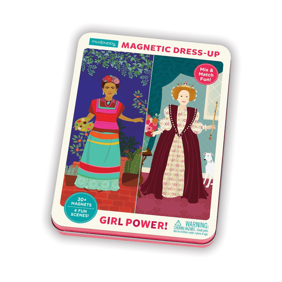 Girl Power! Magnetic Figures Dress-Up