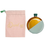 Mint & Gold Flask