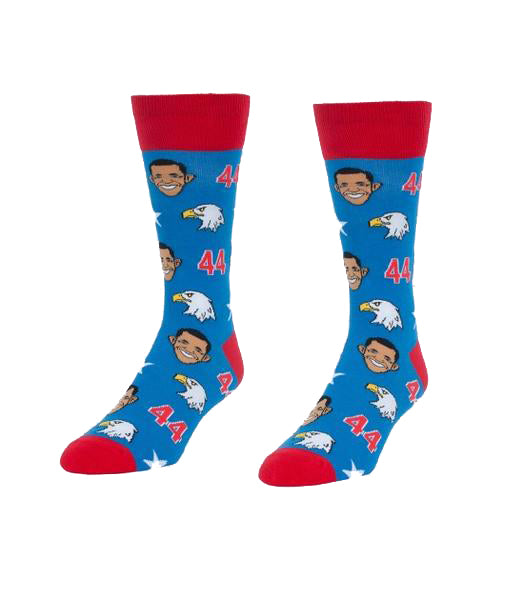 Obama & Eagles Socks