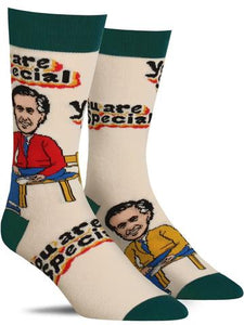 Mister Rogers Socks: You Are Special