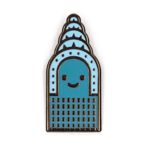 NYC Chrysler Baby Pin