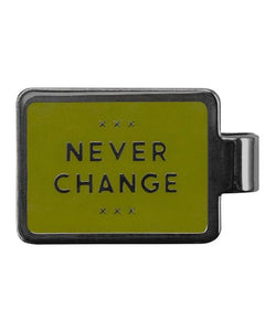 Never Change Money Clip