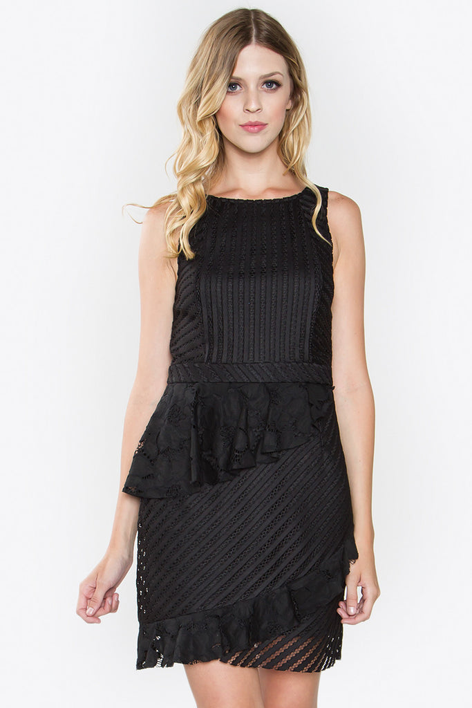 COSETTE RUFFLE DRESS