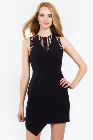 CAGED INNOCENCE DRESS