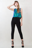MERMAID SEQUIN CROP TOP