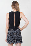 DANIELLA EMBROIDERED DRESS