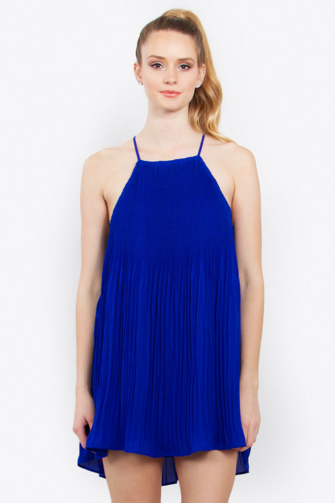 POWER PLEATS DRESS