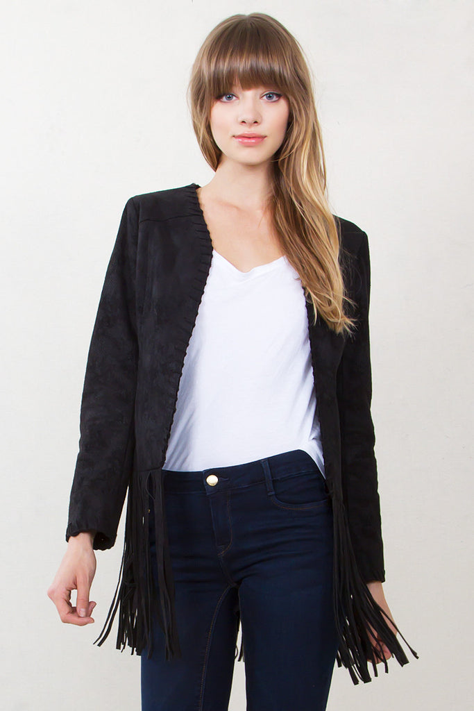 PENNY LANE SUEDE JACKET