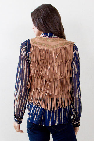 FIND ME IN FRINGE VEST