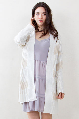 HEAVY CHEVY CARDIGAN SWEATER