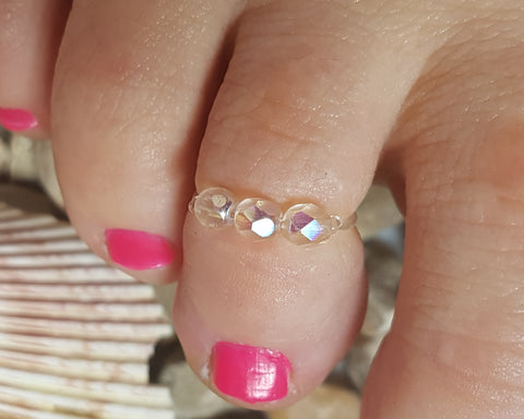 Sparkly Toe Ring