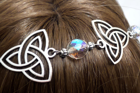Celtic Bridal Headpiece