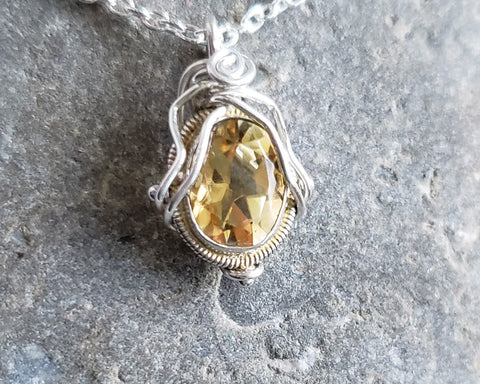 Citrine Delight Pendant