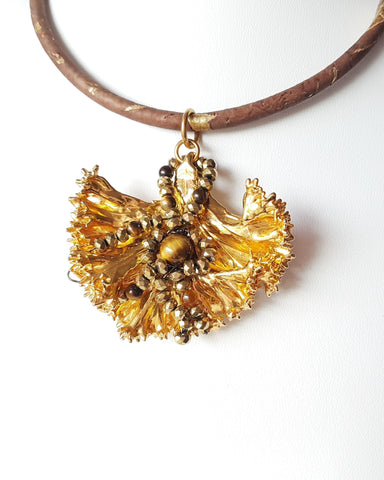 Life Fire Pendant Necklace