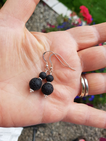 Awaken Essential Oil Diffuser Earrings-Aromatherapy Jewellery