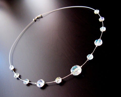 Vintage Crystal Brilliance Necklace