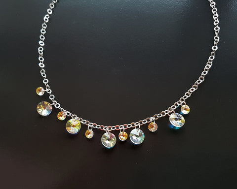 Star of Joy Vintage Crystal Necklace