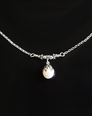 Precious Vintage Cultured Pearl Necklace