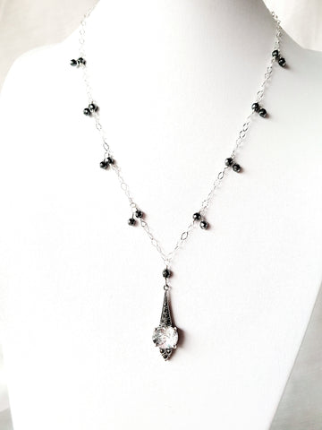 Regal Brilliance Art Deco Inspired Necklace