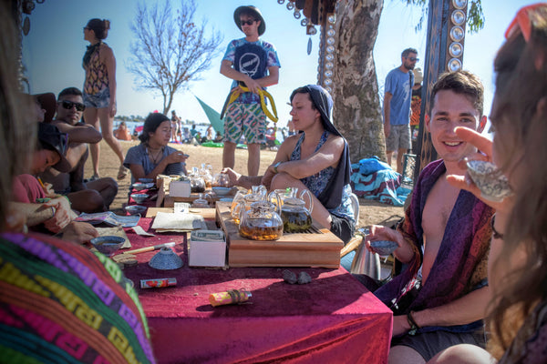 Around the tea table at Symbiosis Festival