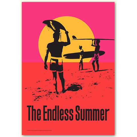 'The Endless Summer'- 50th Anniversary Art Print