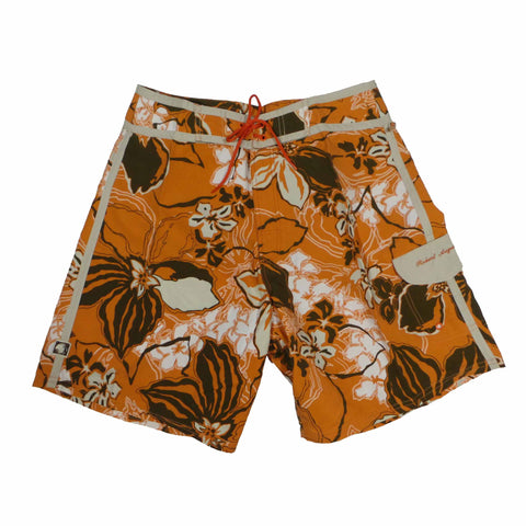 RA 'Flora' Trunk - Burnt Orange/Brown