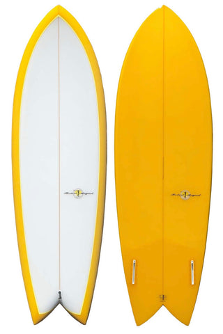 RA Retro Fish Twin Fin