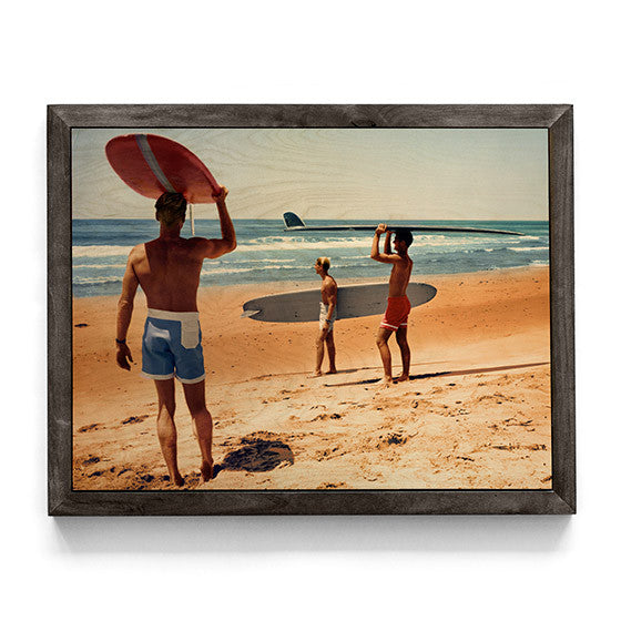 The Endless Summer Print On Wood