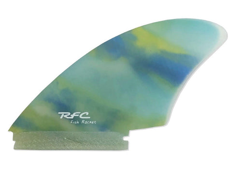 The 'Rocket Fish' Twin Fin by RFC