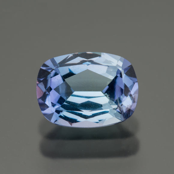 Blue Cushion Tanzanite