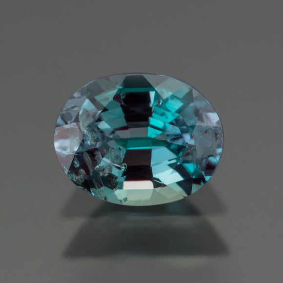 Green Oval Alexandrite