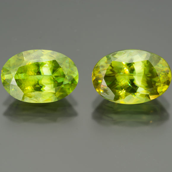 Green Oval Sphene