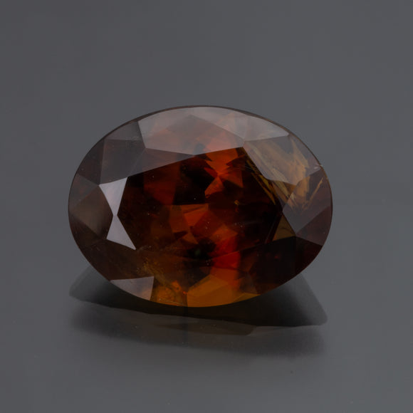 Brown Oval Sphene
