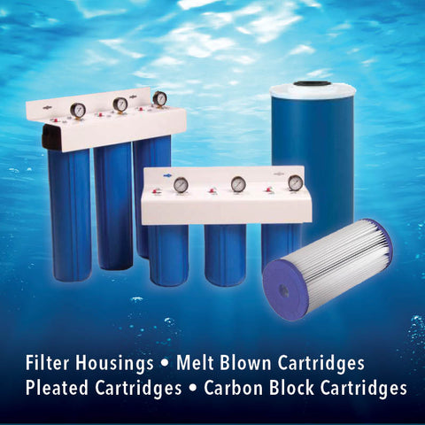 Commercial Water Filters and UV Parts