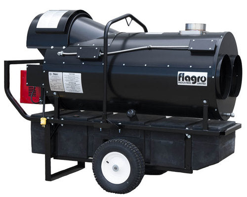 Flagro Oil Indirect Fired Heater | 390,000 BTU Facility Equipment - Cleanflow