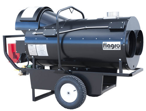 Flagro Propane/Natural Gas Indirect Fired Heater | 390,000 BTU